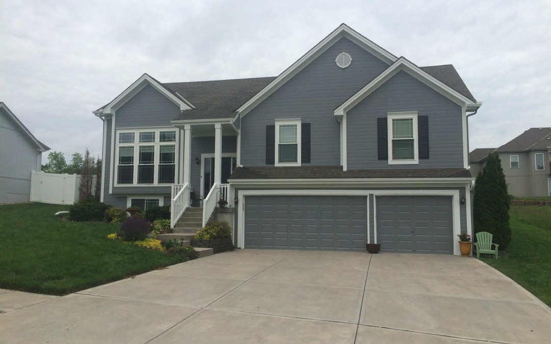 Smithville Residential Repaint – Exterior Painting