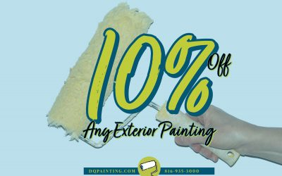 March Special! 10% Off Any Exterior Painting