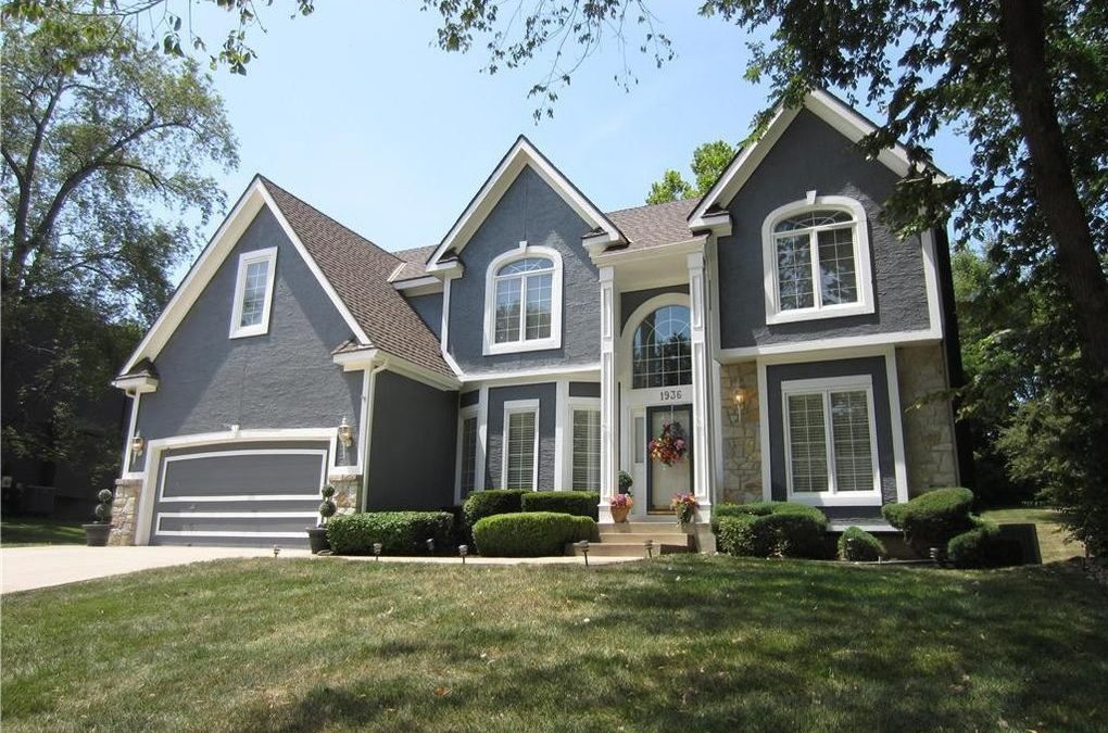 Fresh exterior paint can completely change the look of your house