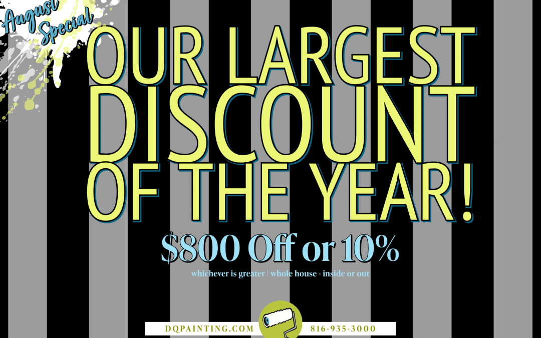 August Special! $800 off!