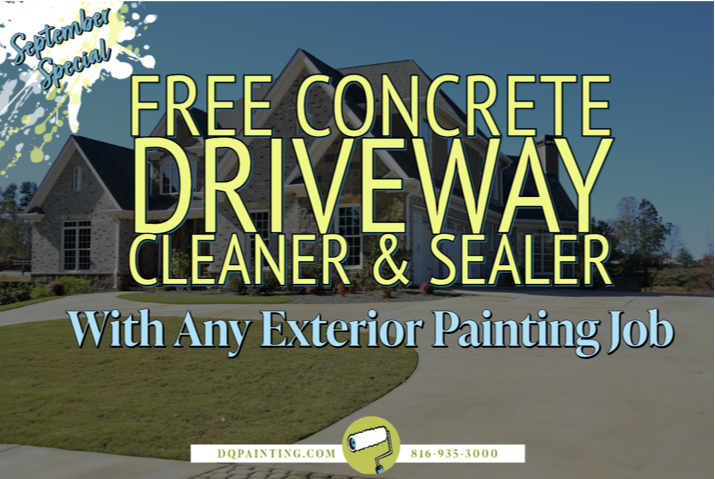 September Painting Special - house painting kansas city